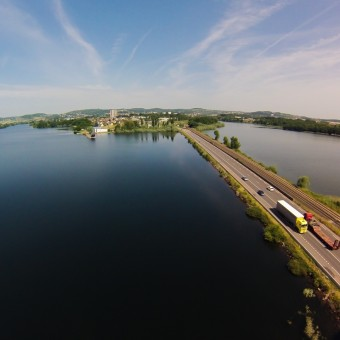 Torcy, paysages et patrimoine - Le Lac de Torcy