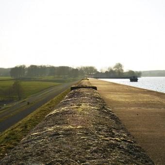 Torcy, paysages et patrimoine - La digue