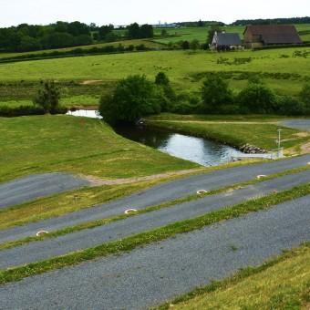 Torcy, paysages et patrimoine - La digue - visuel 1