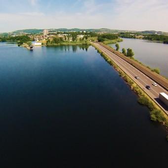 Torcy, paysages et patrimoine - Le Lac et ses rivages