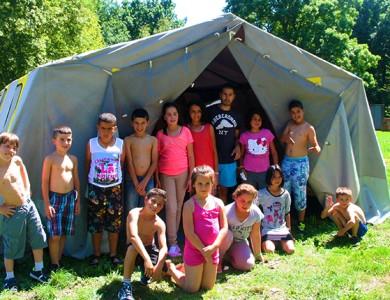 Mairie de Torcy - Mini camp à la base de loisirs // Centre de Loisirs