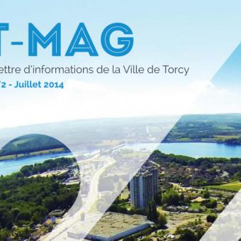 Mairie de Torcy - T-Mag n°2 // Juillet 2014