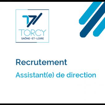 Mairie de Torcy - Avis de recrutement // Assistant(e) de direction