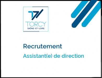 Mairie de Torcy - Avis de recrutement // Assistant(e) de direction