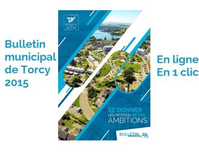 Mairie de Torcy - Bulletin Municipal 2015