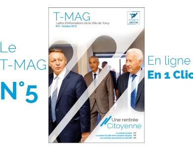Mairie de Torcy - TMAG n°5, octobre 2015 // «Une rentrée citoyenne»