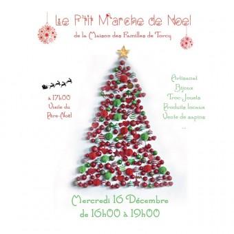 Ville de Torcy 71 - Le P'tit marché de Noel de la Maison des Familles