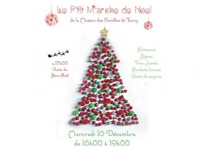 Mairie de Torcy - Le P'tit marché de Noel de la Maison des Familles