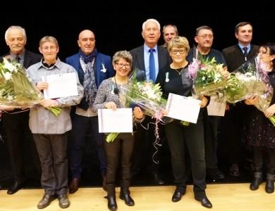 Mairie de Torcy - Vœux au personnel et remise de médailles