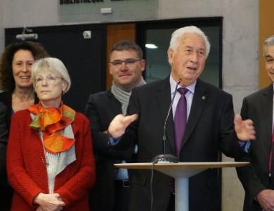 Mairie de Torcy - Le Maire a présenté ses vœux aux forces vives de Torcy
