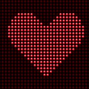 Mairie de Torcy - Saint Valentin // Votre message sur le panneau lumineux !