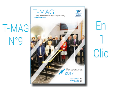 Mairie de Torcy - TMAG n°9, Janvier 2017 // « Perspectives 2017 »