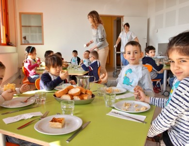 Mairie de Torcy - Menu restaurant d'enfants