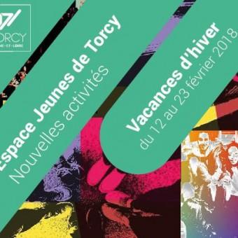 Ville de Torcy 71 - Le programme de l'Espace Jeunes – Vacances d'hiver