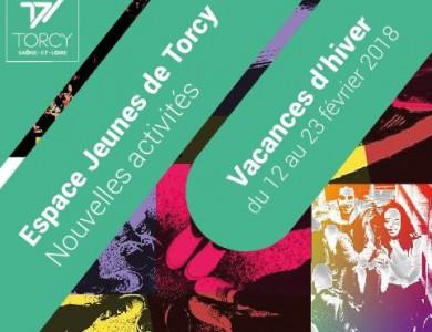 Mairie de Torcy - Le programme de l'Espace Jeunes – Vacances d'hiver
