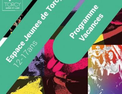 Mairie de Torcy - Le programme de l'Espace Jeunes – Vacances d'automne 2018