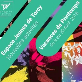 Ville de Torcy 71 - Le programme de l'Espace Jeunes – Vacances de printemps
