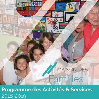 Ville de Torcy 71 - Programme 2018-2019 – Maison des Familles de Torcy