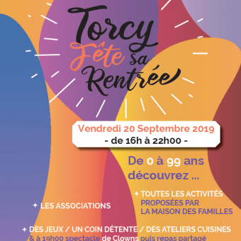 Ville de Torcy 71 - Torcy Fête sa Rentrée