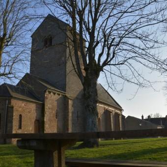 Torcy, paysages et patrimoine - L'église au coeur du bourg - visuel 2