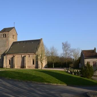 Torcy, paysages et patrimoine - L'église au coeur du bourg - visuel 3