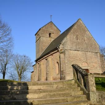 Torcy, paysages et patrimoine - L'église au coeur du bourg - visuel 1