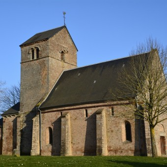 Torcy, paysages et patrimoine - L'église au coeur du bourg