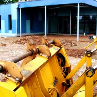 Mairie de Torcy - Chantier en cours //  Ecole maternelle