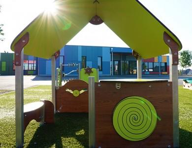 Mairie de Torcy - Jeux, barrières, et fresque // Ecole Maternelle Champ Cordet