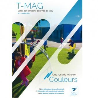 """Mairie de Torcy - TMAG n° 3  """"Une rentrée riche en couleurs"""""""