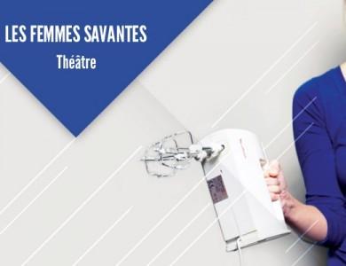 """Mairie de Torcy - """"Les Femmes savantes"""" au C2 // Jeudi 11 Décembre"""