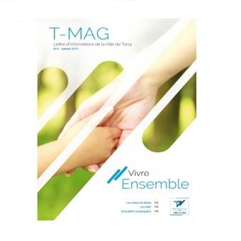 """Mairie de Torcy - TMAG n°4, janvier 2015 // """"Vivre Ensemble"""""""