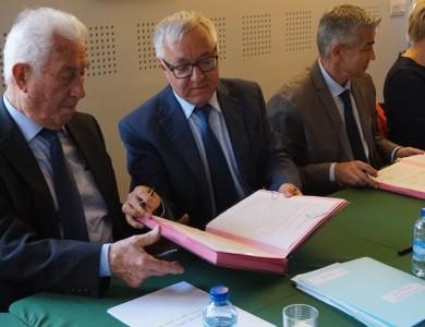 Mairie de Torcy - Signature du Contrat de Ville à Torcy