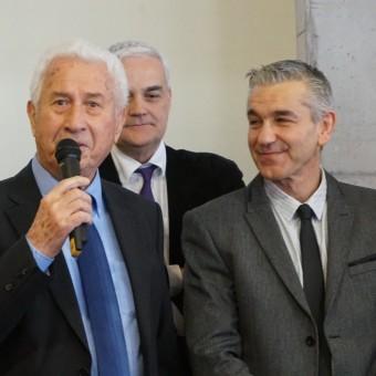 Mairie de Torcy - Le Maire a présenté ses vœux aux forces vives