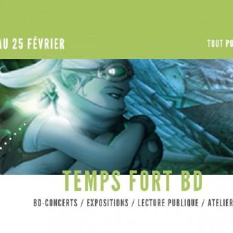 Mairie de Torcy - Temps Fort BD au C2 du 6 au 25 Février