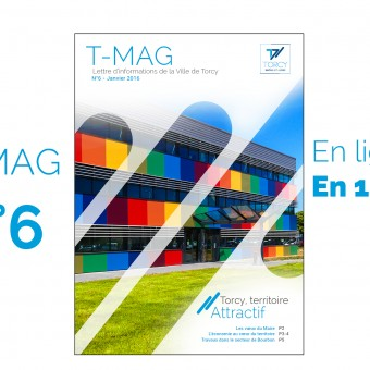 """Mairie de Torcy - TMAG n°6, janvier 2016 // """"Torcy, territoire attractif"""""""