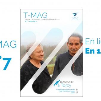 "Mairie de Torcy - TMAG n°7, Mars 2016 // ""Bien vieillir à Torcy"""