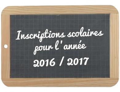 Mairie de Torcy - Inscriptions scolaires 2016-2017