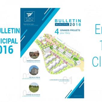 Mairie de Torcy - Bulletin Municipal 2016