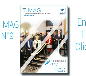 "Mairie de Torcy - TMAG n°9, Janvier 2017 // ""Perspectives 2017"""