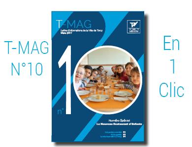 """Mairie de Torcy - TMAG n°10, Mars 2017 //  Numéro spécial """"Restaurant d'Enfants"""""""