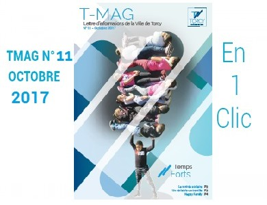Mairie de Torcy - TMAG n°11, octobre 2017 //  Temps Forts