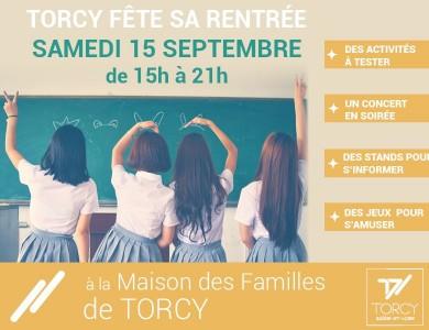 Mairie de Torcy - Torcy Fête sa rentrée