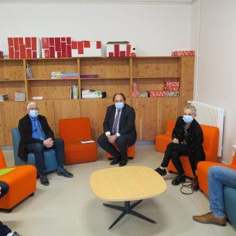 Ville de Torcy 71 - Le Maire rencontre le député Raphaël Gauvain