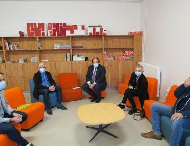 Mairie de Torcy - Le Maire rencontre le député Raphaël Gauvain
