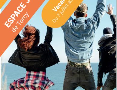 Mairie de Torcy - Programme de L'Espace Jeunes, vacances d'été