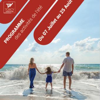 Ville de Torcy 71 - Programme vacances d'été – Maison des Familles