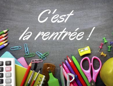 Mairie de Torcy - Rentrée scolaire 2021 / 2022