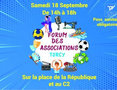 Agenda de Torcy - Forum des associations