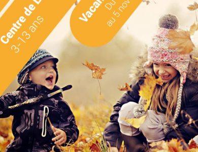 Mairie de Torcy - Les vacances d'automne au Centre de Loisirs // Inscriptions et programme  Exemplaire